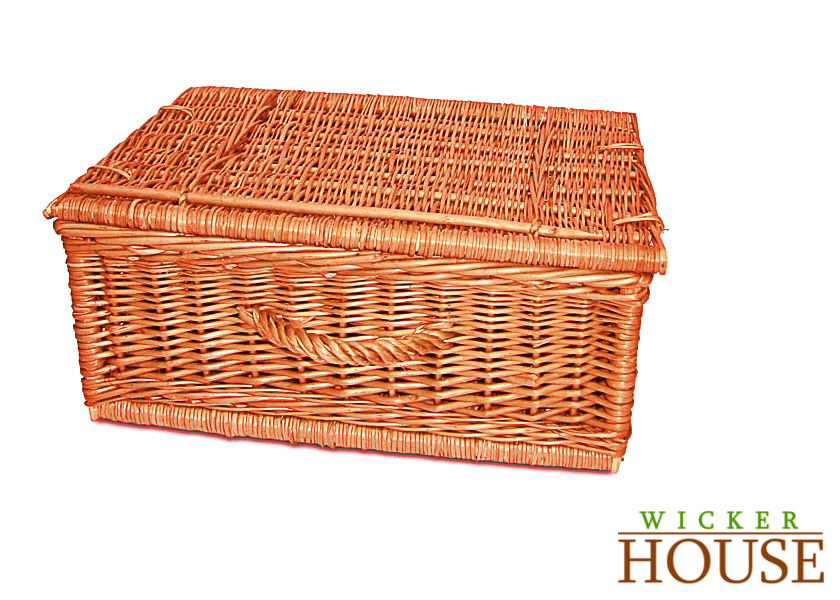 Wicker Hamper Basket The Range : Wicker hamper mm house wide