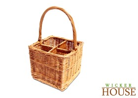 Wicker Wine Basket