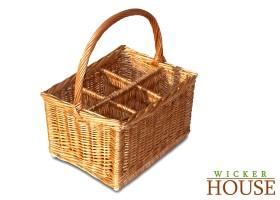 Wicker Wine Basket