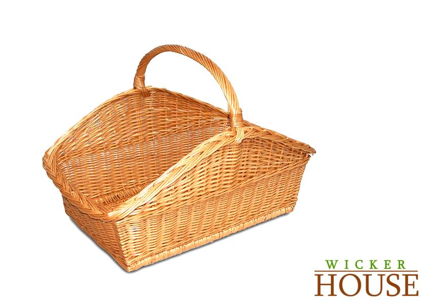 Wicker Hamper Basket The Range : Log basket h mm wicker house wide