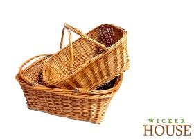 Shopping Wicker Basket