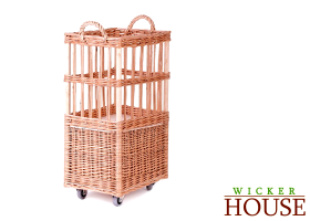 Wicker Baguette Basket