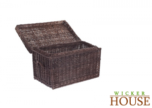 Brown Wicker Trunk
