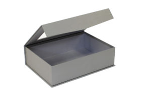 Medium Grey Cardboard Gift Box