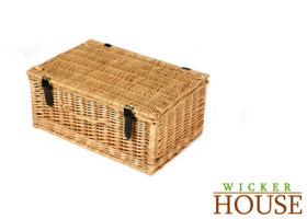 Large Wicker Hamper HA027