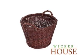 Large outdoor wicker basket